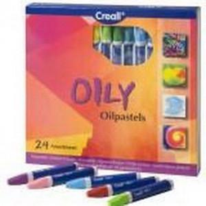 Набор масляной пастели Creall Oily Havo, 24 цвета/ картон.коробка