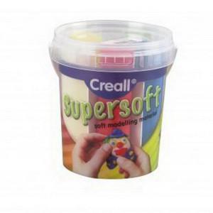 Масса модельн/супермягкая Creall SuperSoft Havo/ Ассорти 5 цв. 450 гр