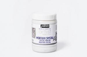 Структурная кварцевая паста CRYST MORTAR Pebeo/ банка 250мл