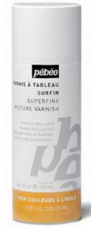 Аэрозольный покрывной глянцевый лак Superfine/Pebeo/400мл