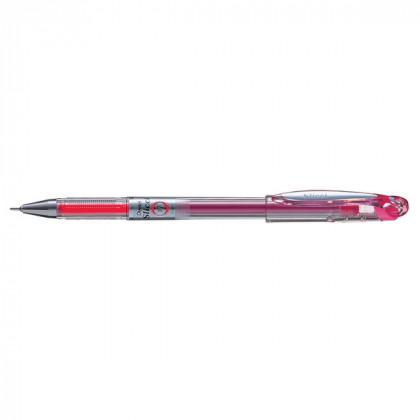Гелевая ручка Slicci (игловидная) розовый стержень 0,7 мм