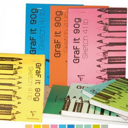 Блок бумаги для набросков 21х29,7 см/ 80 л, 90 гр