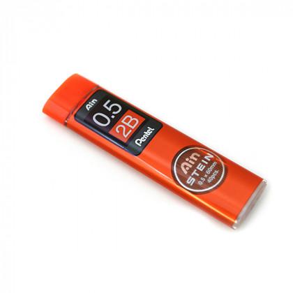 Грифели для карандашей автоматич. Ain Stein 0.5мм. 40шт.2B