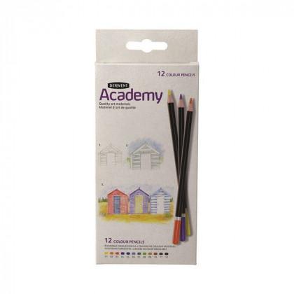 """Набор  цветных карандашей """"Academy"""" /24цв. в картоне"""