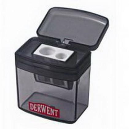 Точилка  DERWENT двойная с контейнером