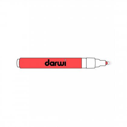 Глубокий кармин. Акриловый маркер DARWI Acryl Opak 1мм