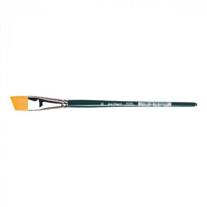 Кисть плоская скошенная Da Vinci NOVA 1373/синтетика/дл. ручка/№16