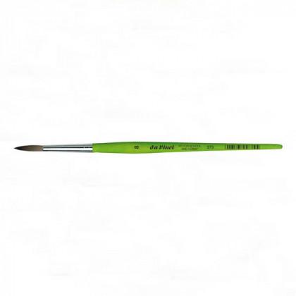 Синтетика круглая №12 /короткая зелен.ручка