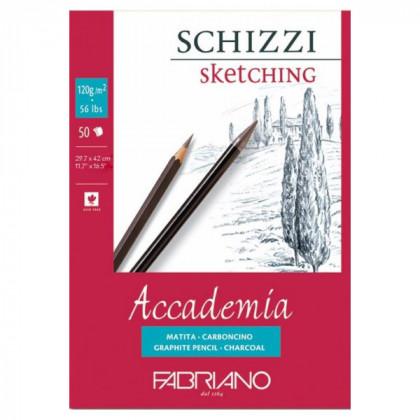 """Склейка д/графики """"Accademia Schizzi"""" 29,7х42см 50л 120г"""