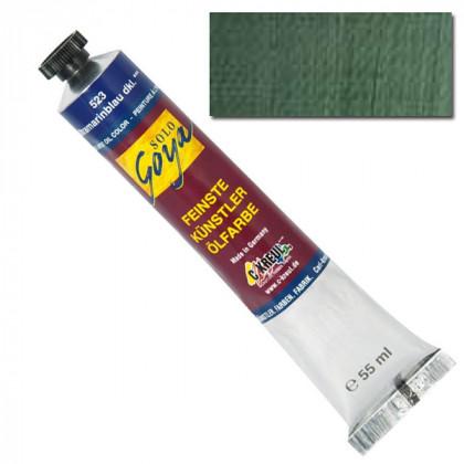 """Масляная краска """"Solo Goya"""" зеленая земля 55 мл"""