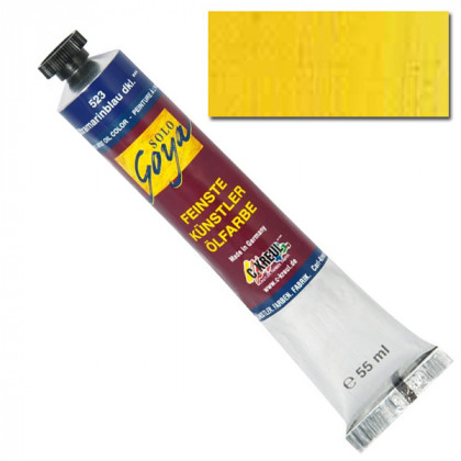"""Масляная краска """"Solo Goya"""" кадмий желтый светлый 55мл"""