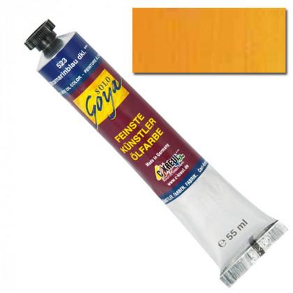 "Масляная краска ""Solo Goya"" кадмий желтый темный 55мл"