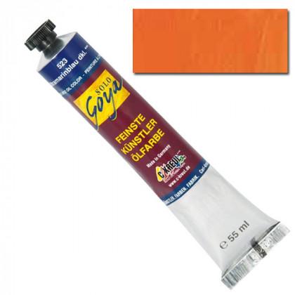 "Масляная краска ""Solo Goya"" кадмий оранжевый 55мл"
