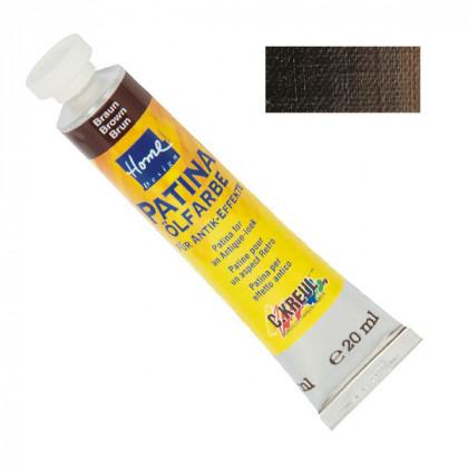 Краска-патина масляная коричневая Home Design