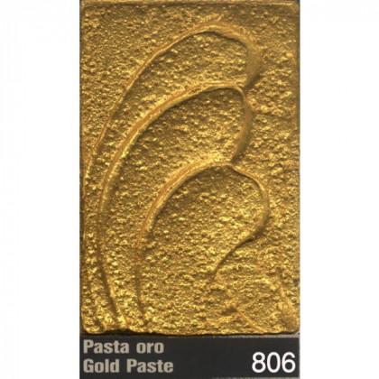 Акриловая моделирующая паста золотая