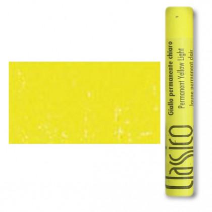 Масляная пастель классико Желтый прочный светлый
