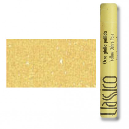 Масляная пастель классико Охра желтая слабая