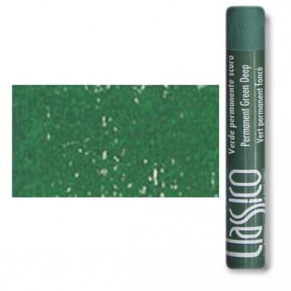 Масляная пастель классико Зеленый прочный темный