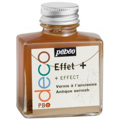 Лак с эффектом старения на основе растворителя Pebeo Deco
