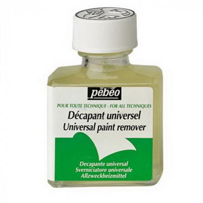 Растворитель (смывка) красок универсальный Extra Fine Pebeo/75мл
