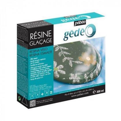Эпоксидная смола с эффектом глазури GLAZING Resin, двухкомпонентная 300 мл