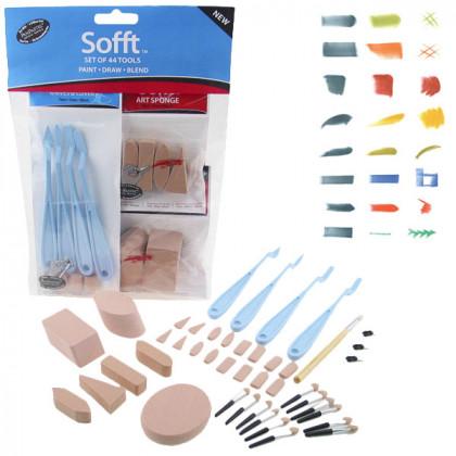 Инструменты для пастели, комбинированный набор