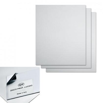 Цинковая пластина 240 х 300 мм