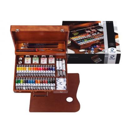 Набор масляных красок VAN GOGH в деревянном ящике
