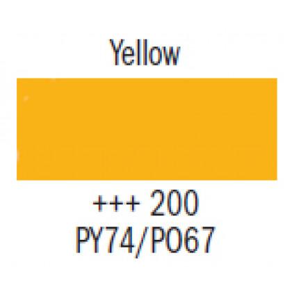 Гуашь худ. жёлтая