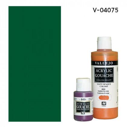 Гуашь-темпера Vallejo/Зеленый прочный