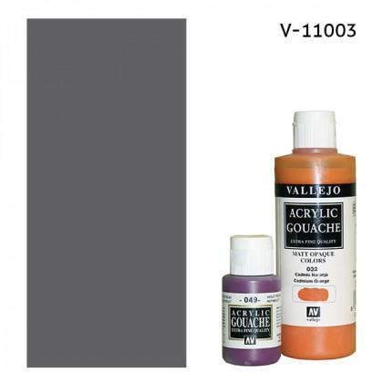 Гуашь-темпера Vallejo/Серый №3