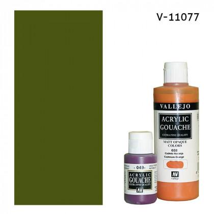 Гуашь-темпера Vallejo/Зеленый оливковый
