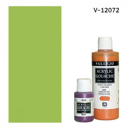 Гуашь-темпера Vallejo/Желто-зеленый