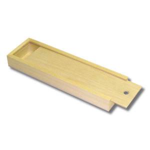 Пенал для кистей деревянный, внутр.размер 219х55х20