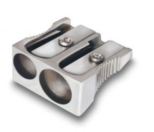 Точилка металлическая двойная CWR