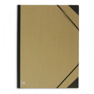 Папка для хранения работ 32х45 А3+ картон, с резинк.