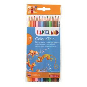 "Набор  цветн. карандашей ""Lakeland Colourthin"" /12 шт в блистере"