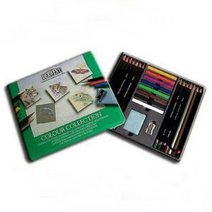 """Набор  """"Colour Collection"""" /цв.карандаши,пастель /24 шт в мет.кор."""