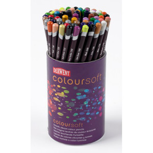"""Набор  цветных карандашей  """"Coloursoft""""  /72цв.в тубусе"""