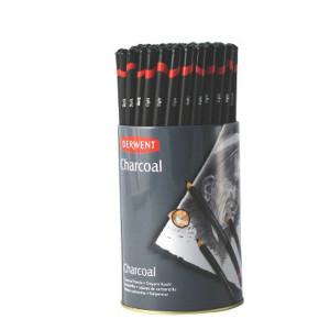 Набор  древесного угля в карандаше /72шт в тубусе