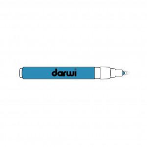 Бирюзовый. Акриловый маркер DARWI Acryl Opak 1мм