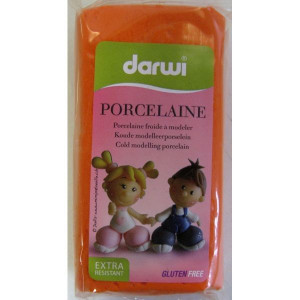 Модельная масса DARWI-PORCELAINE/ оранжевая/150г