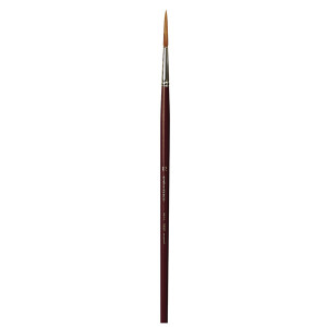 Кисть для реставрации круглая da Vinci 1250/ушной волос/удлиненная рабочая часть/острый край/№8