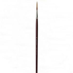 Кисть для реставрации круглая da Vinci 1250/ушной волос/удлиненная рабочая часть/острый край/№16