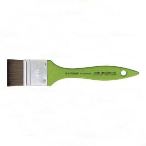 Кисть флейц Da Vinci 5073 Hobby/синтетика/зеленая ручка/№20