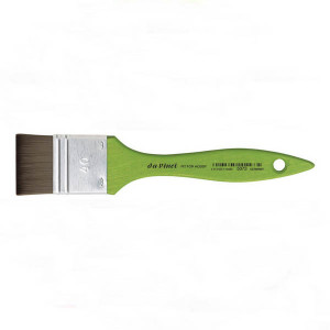 Кисть флейц Da Vinci 5073 Hobby/синтетика/зеленая ручка/№30