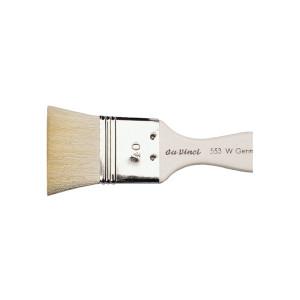 Кисть флейц Da Vinci 553/отбеленная коза/№60