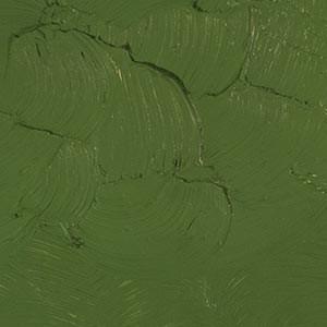 """Зеленый оксид хрома. Масляная краска """"Gamblin 1980"""""""