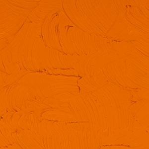 "Оранжевый стойкий. Масляная краска ""Gamblin 1980"""