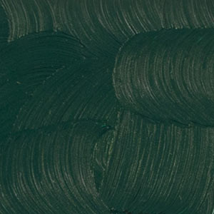 "Зеленая виридиан. Масляная краска ""Gamblin 1980"""